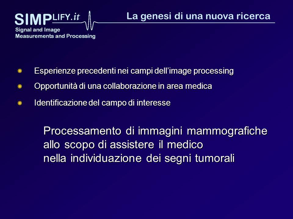Processamento di immagini mammografiche