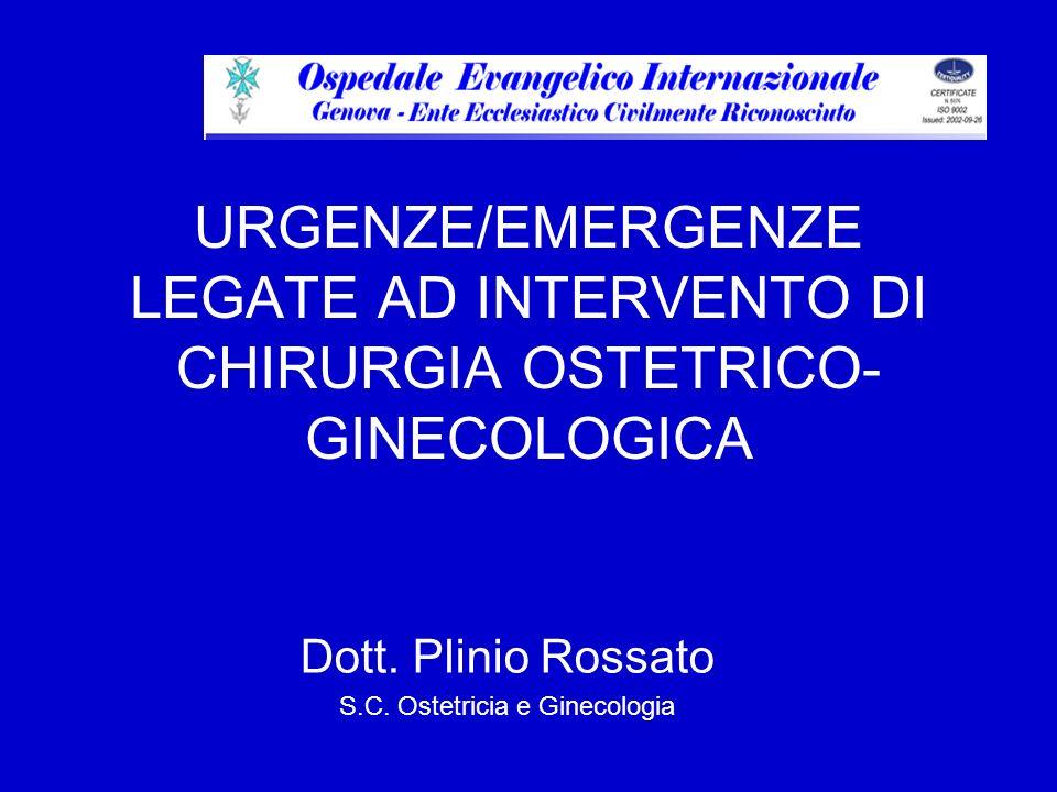 Dott. Plinio Rossato S.C. Ostetricia e Ginecologia