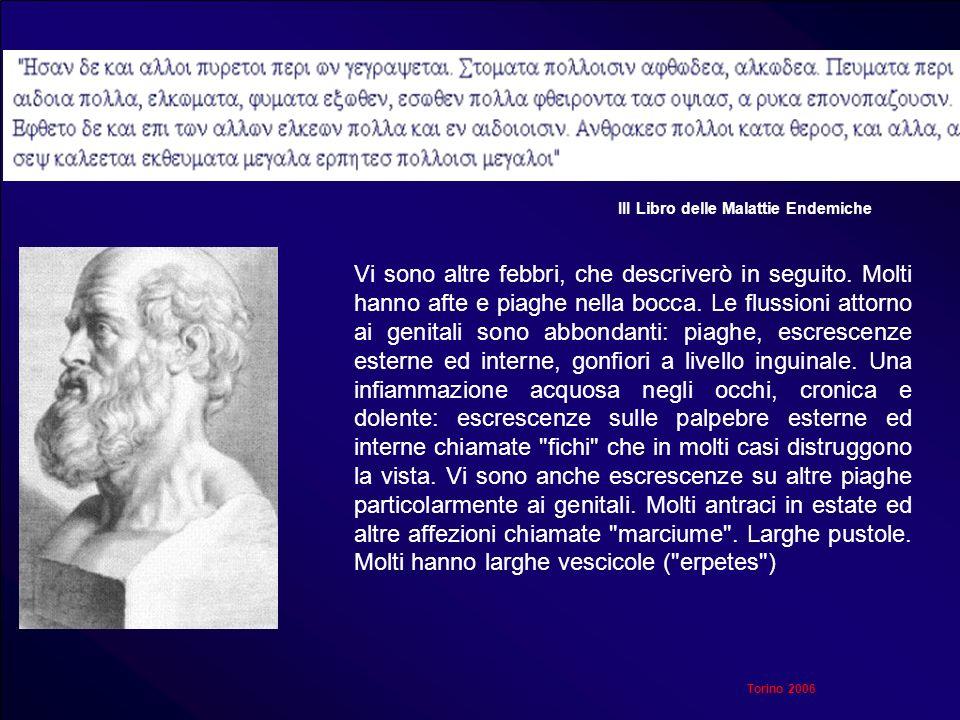 III Libro delle Malattie Endemiche