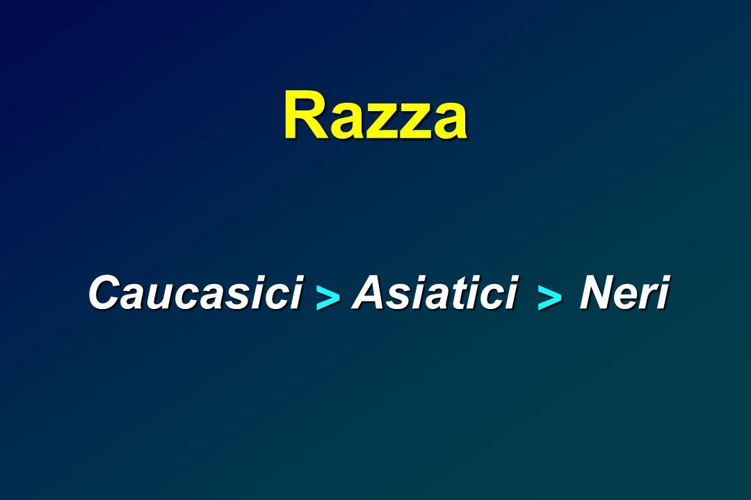 Caucasici Asiatici Neri