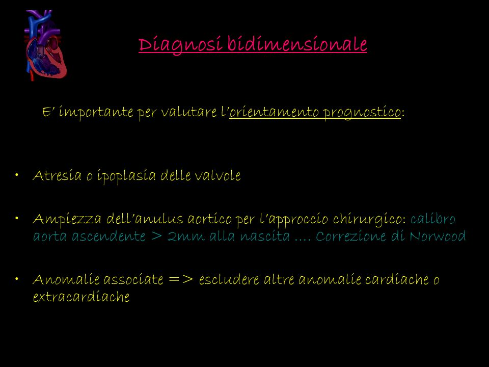 Diagnosi bidimensionale
