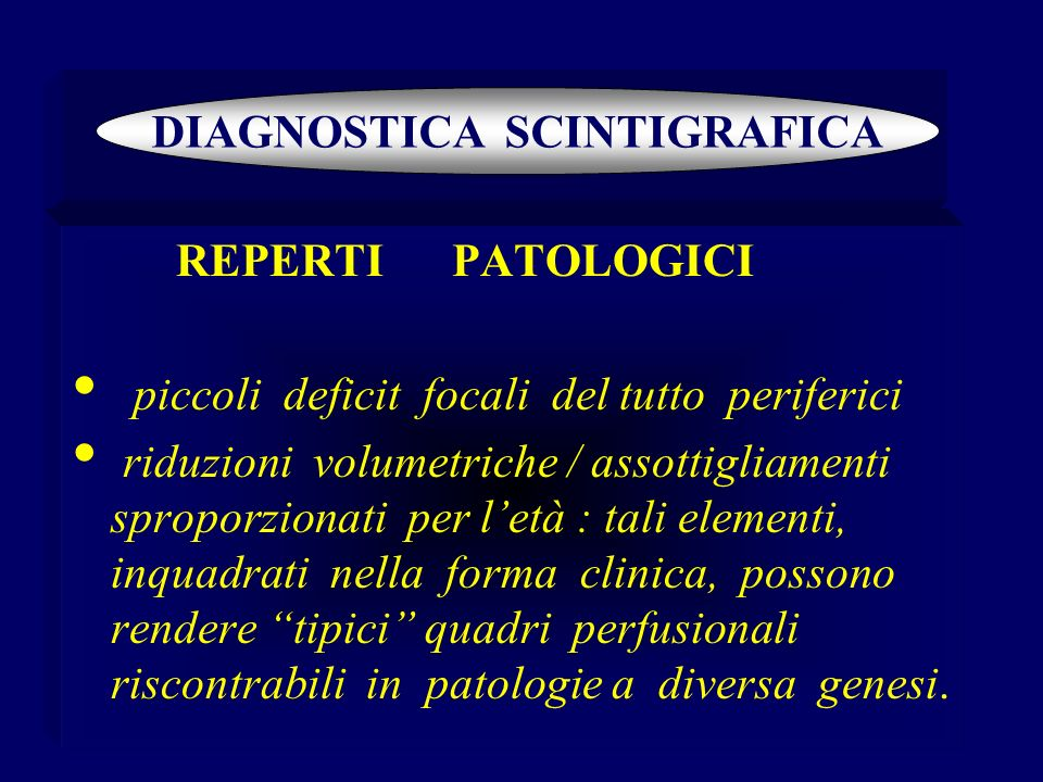 DIAGNOSTICA SCINTIGRAFICA
