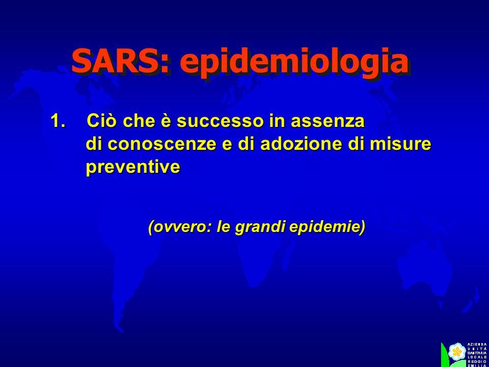 (ovvero: le grandi epidemie)