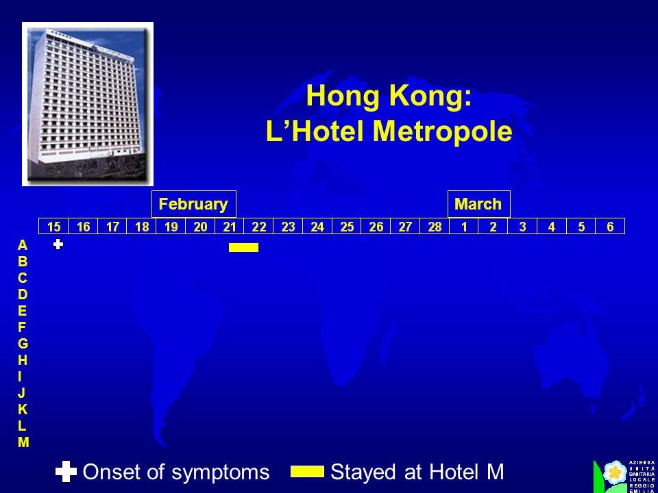 Hong Kong: L'Hotel Metropole