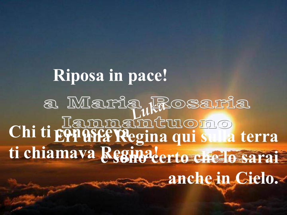a Maria Rosaria Iannantuono