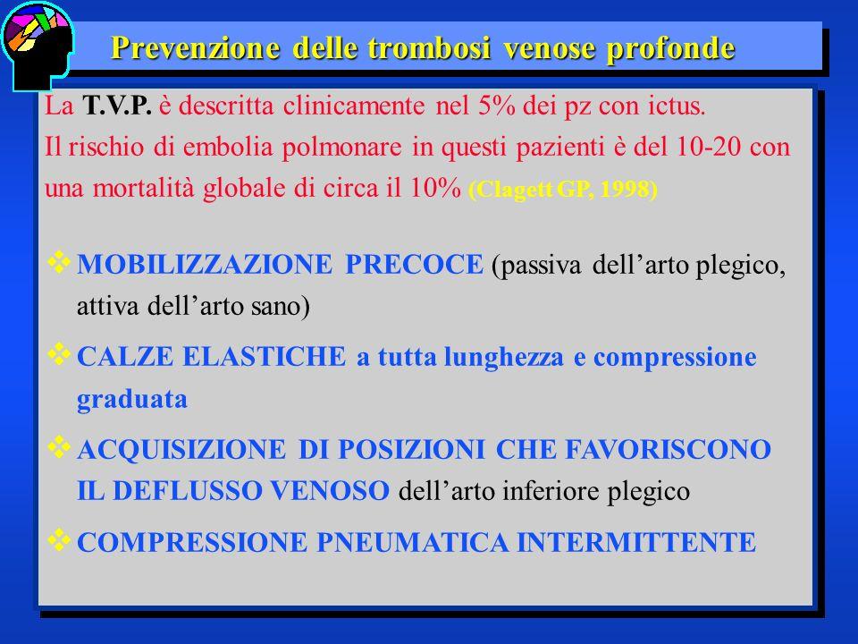 Prevenzione delle trombosi venose profonde