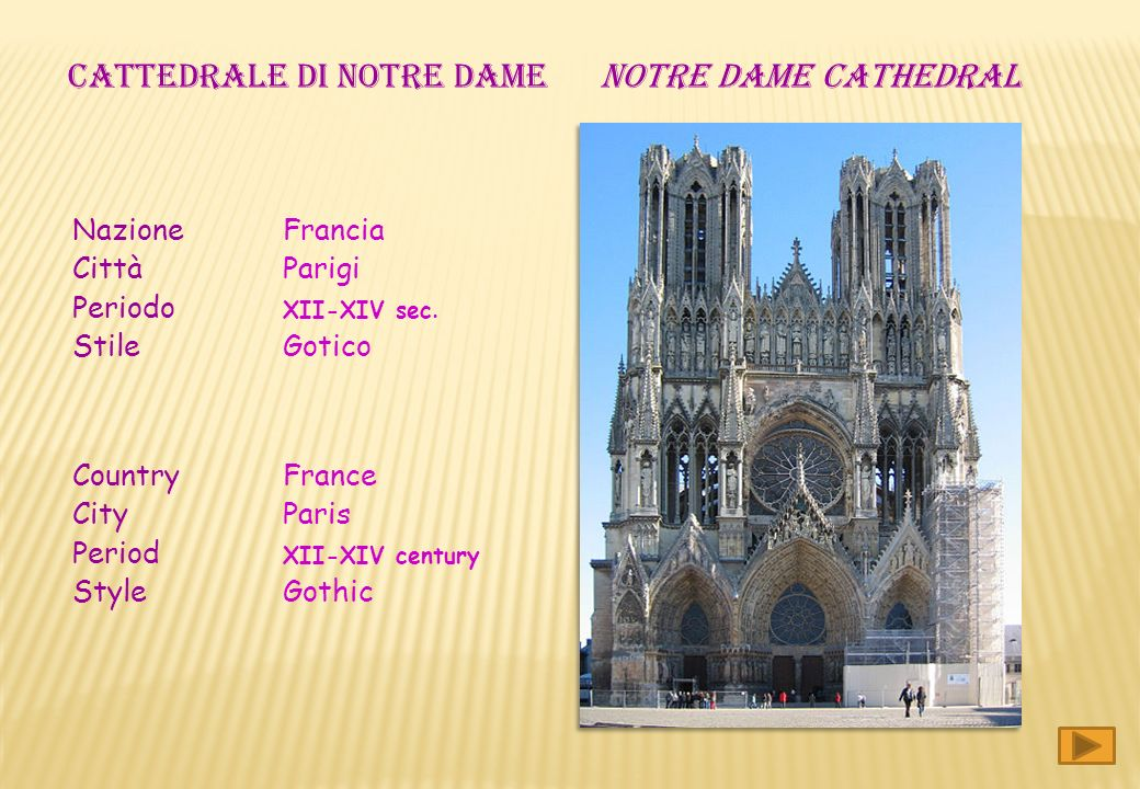 CATTEDRALE DI NOTRE DAME NOTRE DAME CATHEDRAL