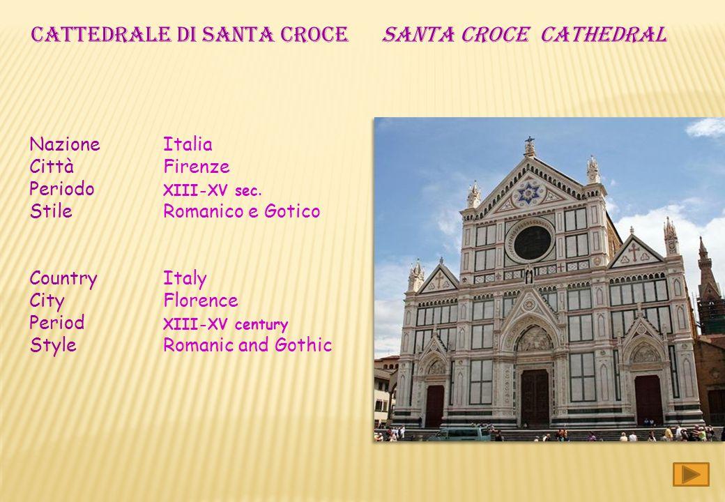 CATTEDRALE DI SANTA CROCE SANTA CROCE cathedral