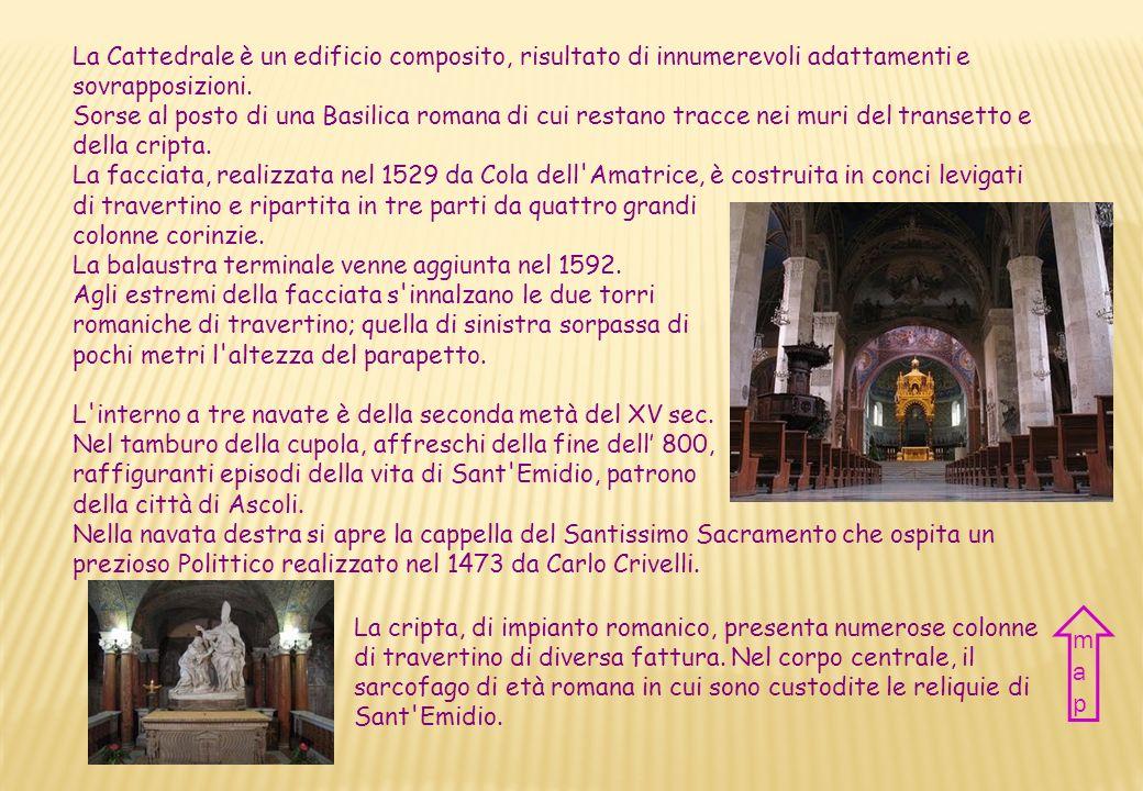 La Cattedrale è un edificio composito, risultato di innumerevoli adattamenti e sovrapposizioni.
