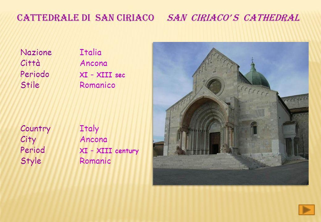 CATTEDRALE DI san ciriaco San ciriaco' s CATHEDRAL