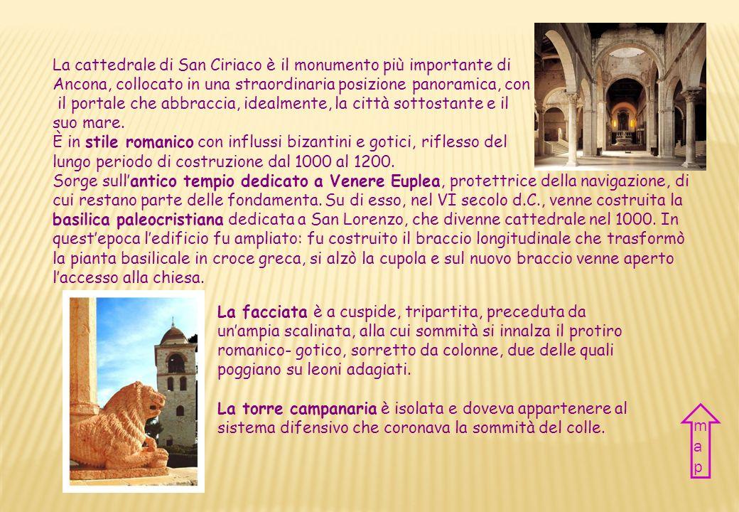 map La cattedrale di San Ciriaco è il monumento più importante di