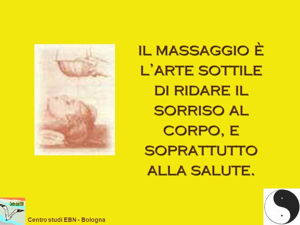 il massaggio è l'arte sottile di ridare il sorriso al corpo, e soprattutto alla salute.