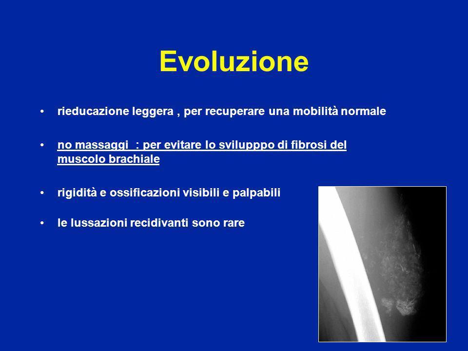 Evoluzione rieducazione leggera , per recuperare una mobilità normale