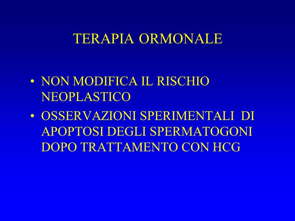 TERAPIA ORMONALE NON MODIFICA IL RISCHIO NEOPLASTICO