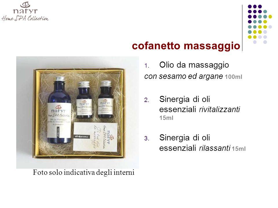 cofanetto massaggio Olio da massaggio