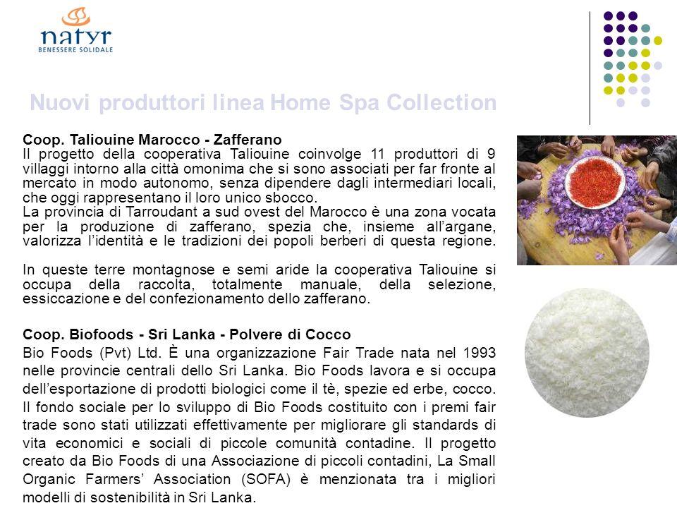 Nuovi produttori linea Home Spa Collection