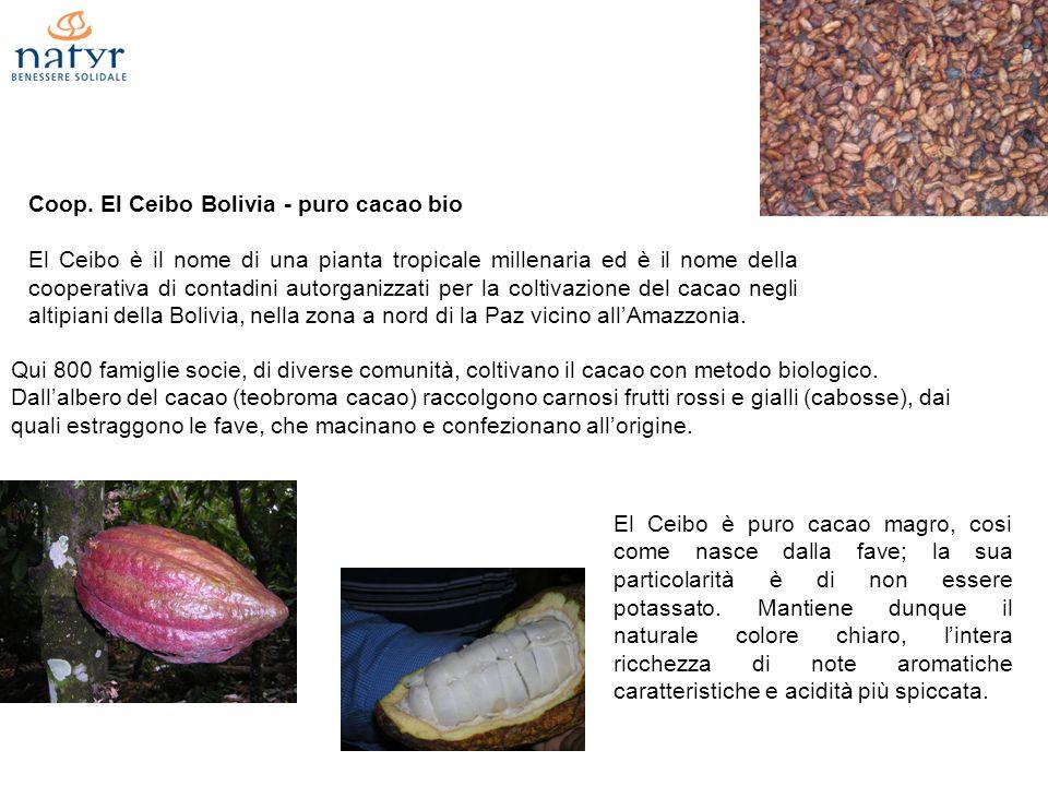 Coop. El Ceibo Bolivia - puro cacao bio