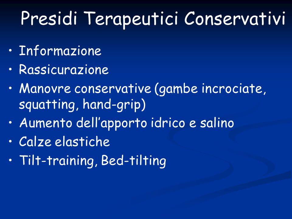 Presidi Terapeutici Conservativi