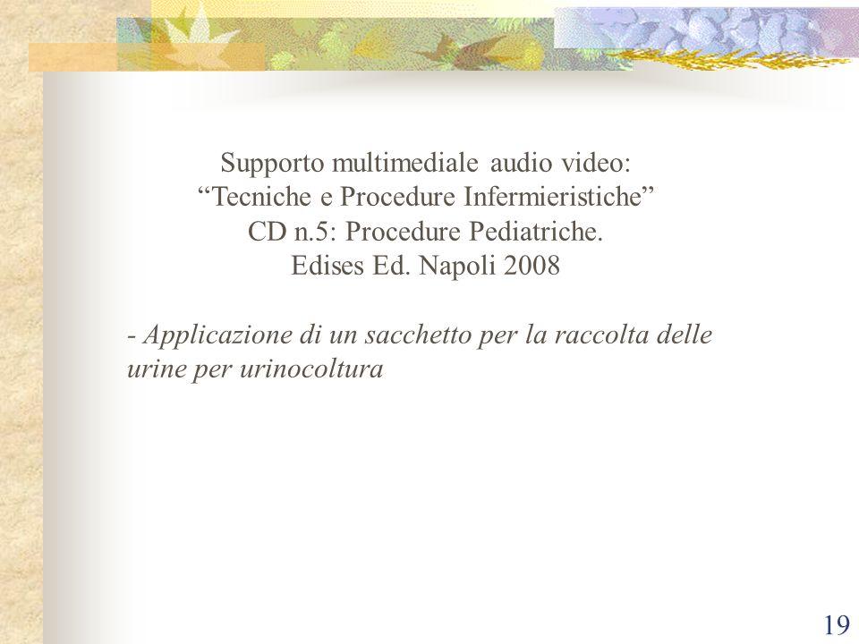 Supporto multimediale audio video: