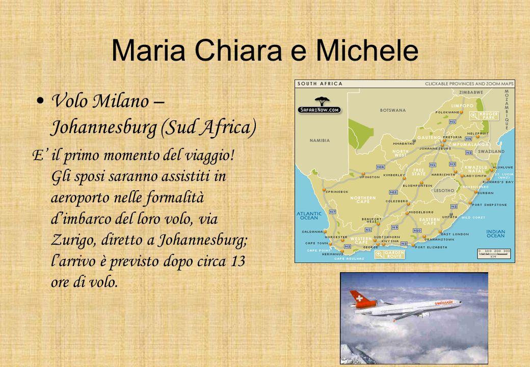 Volo Milano – Johannesburg (Sud Africa)