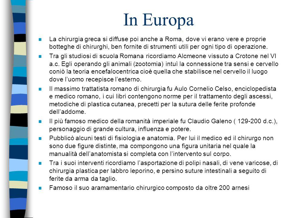In Europa