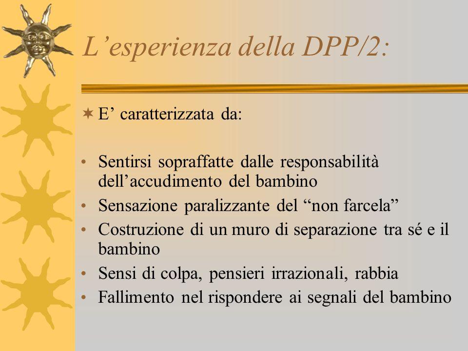 L'esperienza della DPP/2: