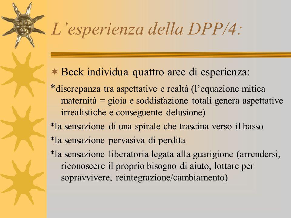 L'esperienza della DPP/4: