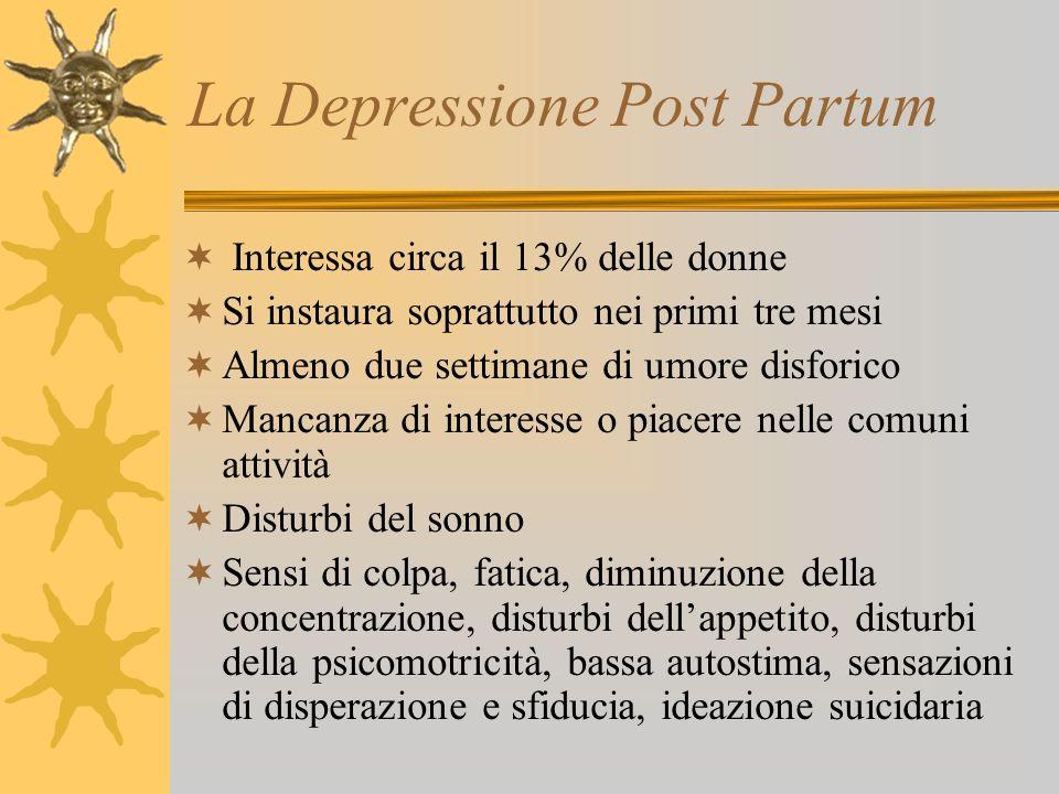 La Depressione Post Partum