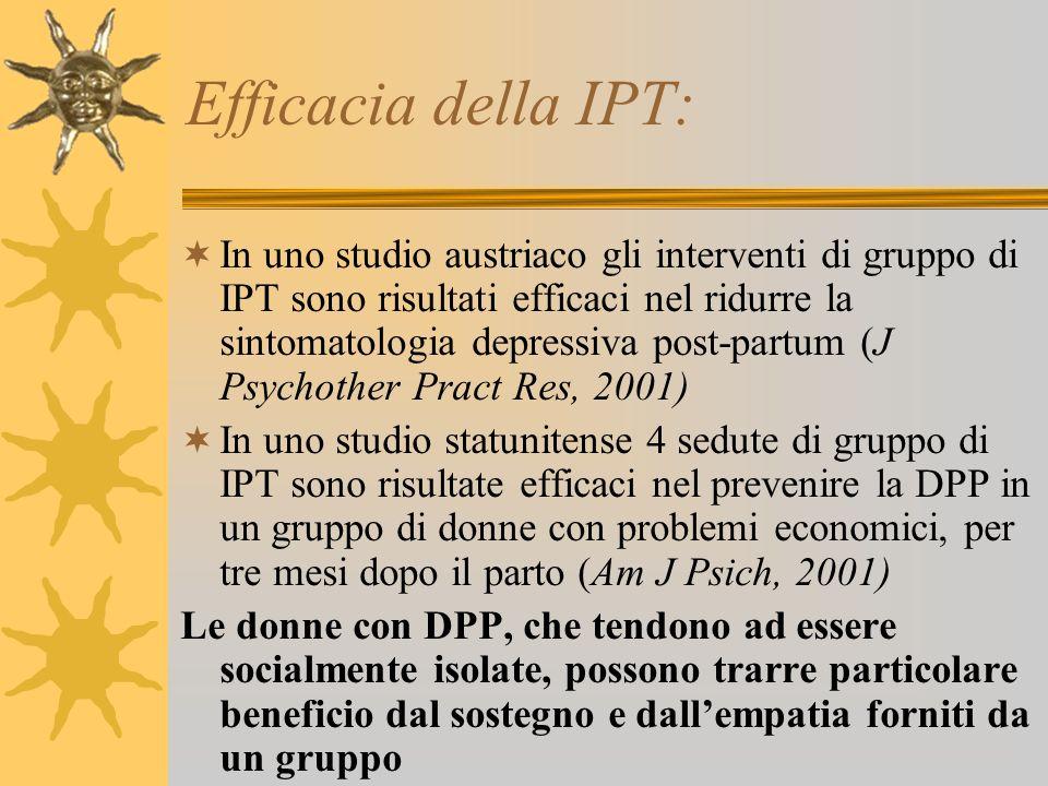 Efficacia della IPT: