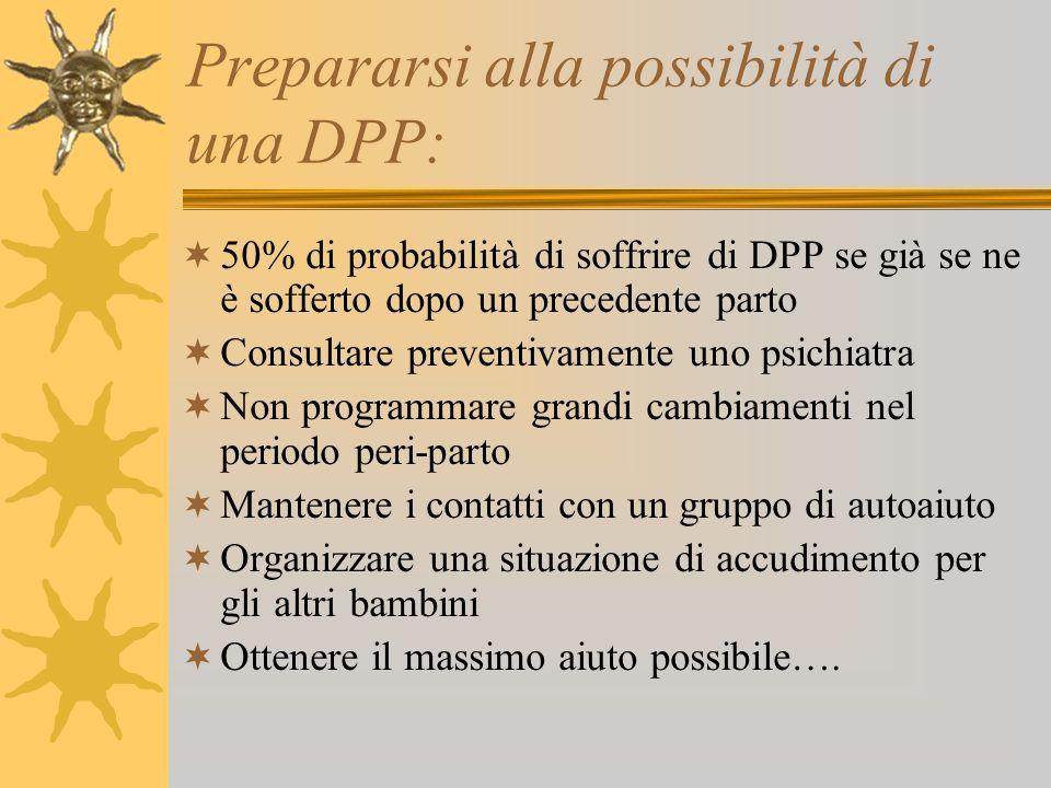 Prepararsi alla possibilità di una DPP: