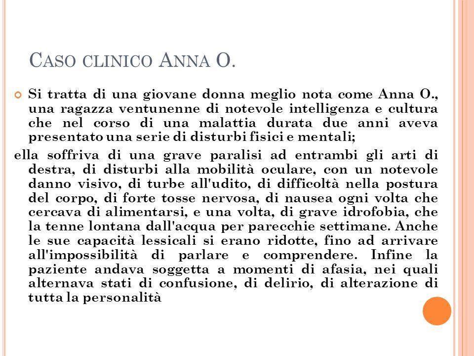 Caso clinico Anna O.