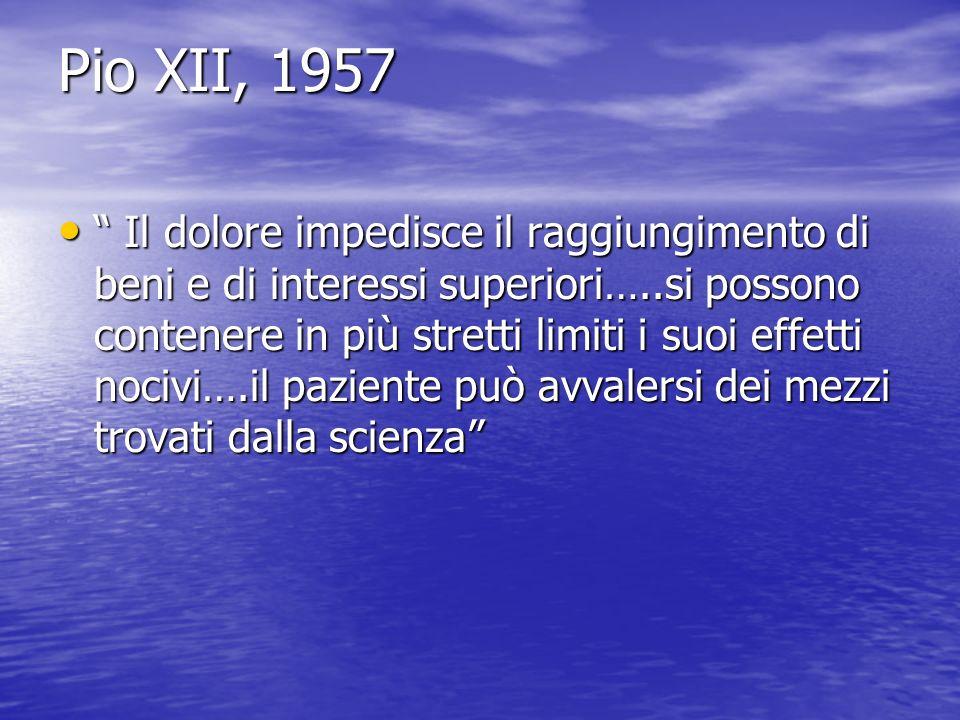 Pio XII, 1957