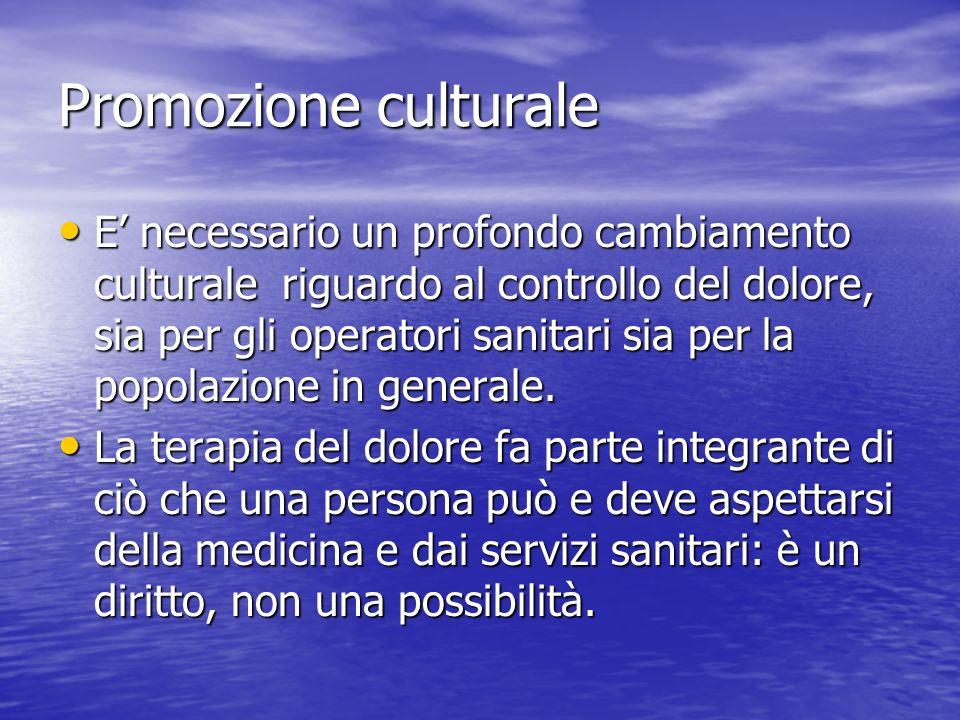 Promozione culturale