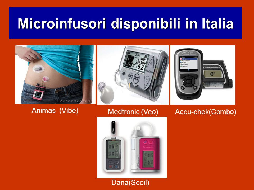 Microinfusori disponibili in Italia