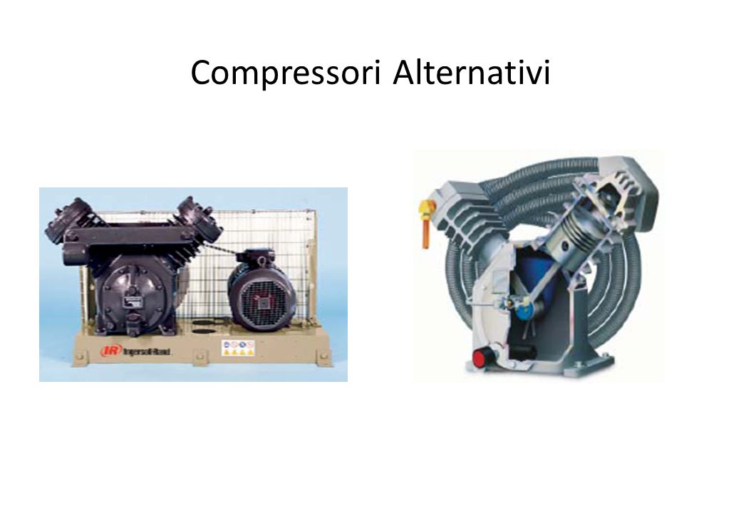 Compressori Alternativi