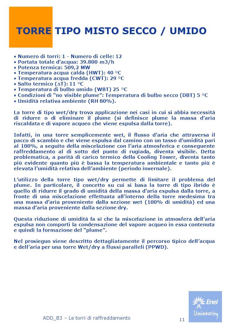 TORRE TIPO MISTO SECCO / UMIDO