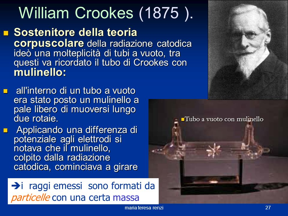 William Crookes (1875 ).