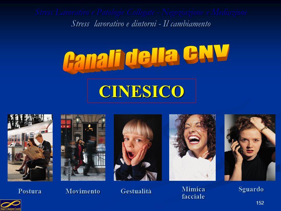 CINESICO Canali della CNV