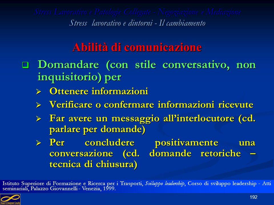 Abilità di comunicazione