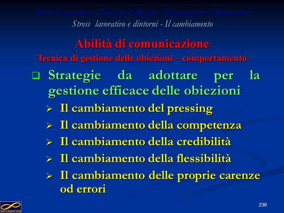Strategie da adottare per la gestione efficace delle obiezioni