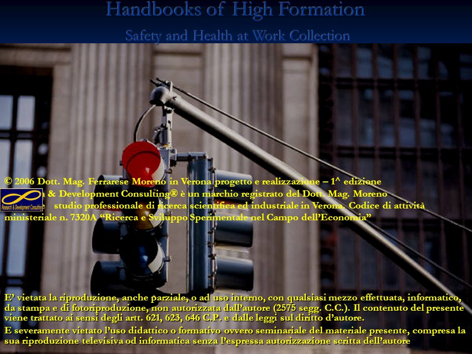 Handbooks of High Formation Safety and Health at Work Collection