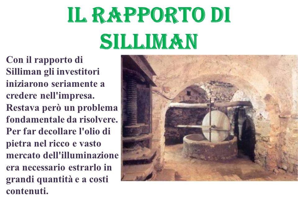 Il RAPPORTO di SILLIMAN