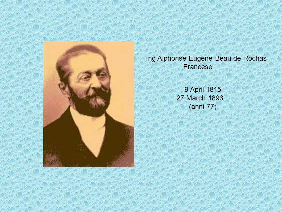 Ing Alphonse Eugène Beau de Rochas