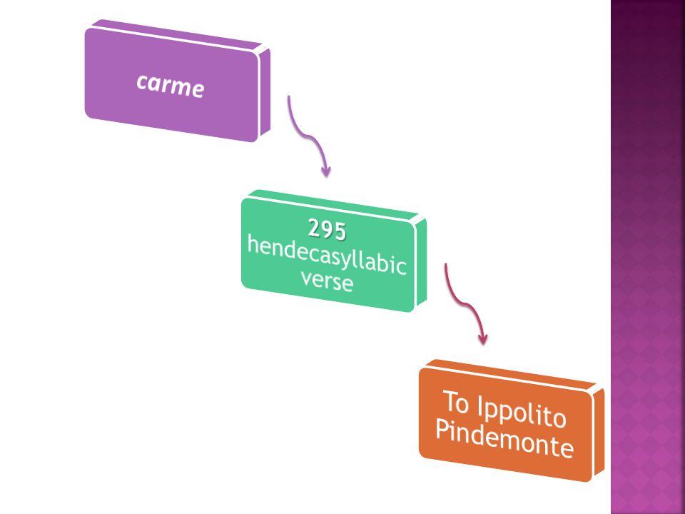 To Ippolito Pindemonte
