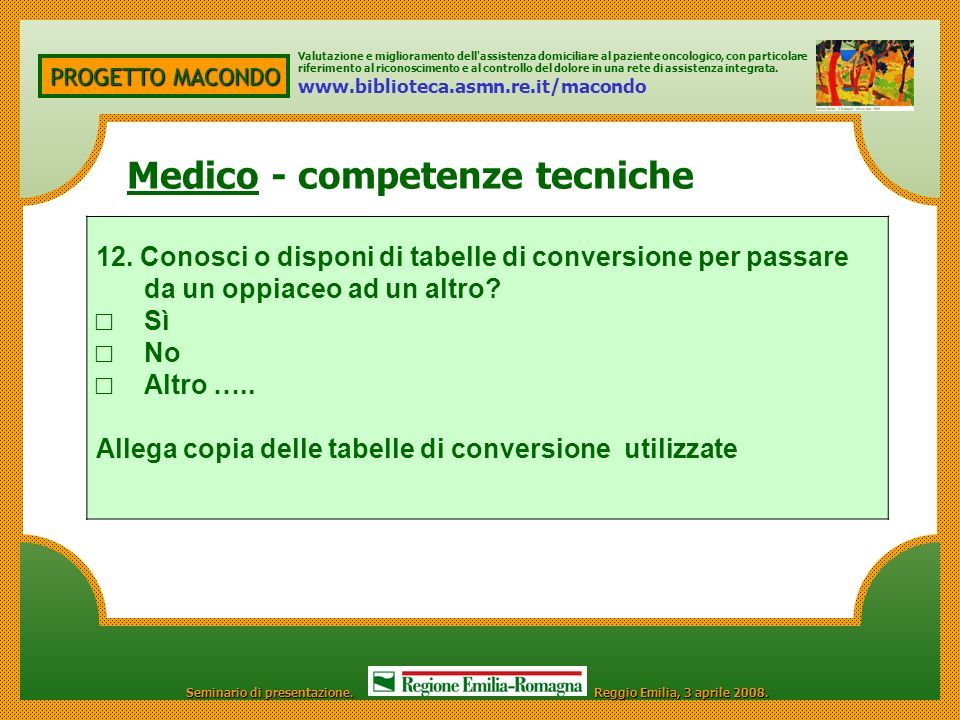 Medico - competenze tecniche