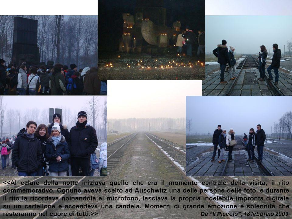 <<Al calare della notte iniziava quello che era il momento centrale della visita, il rito commemorativo.
