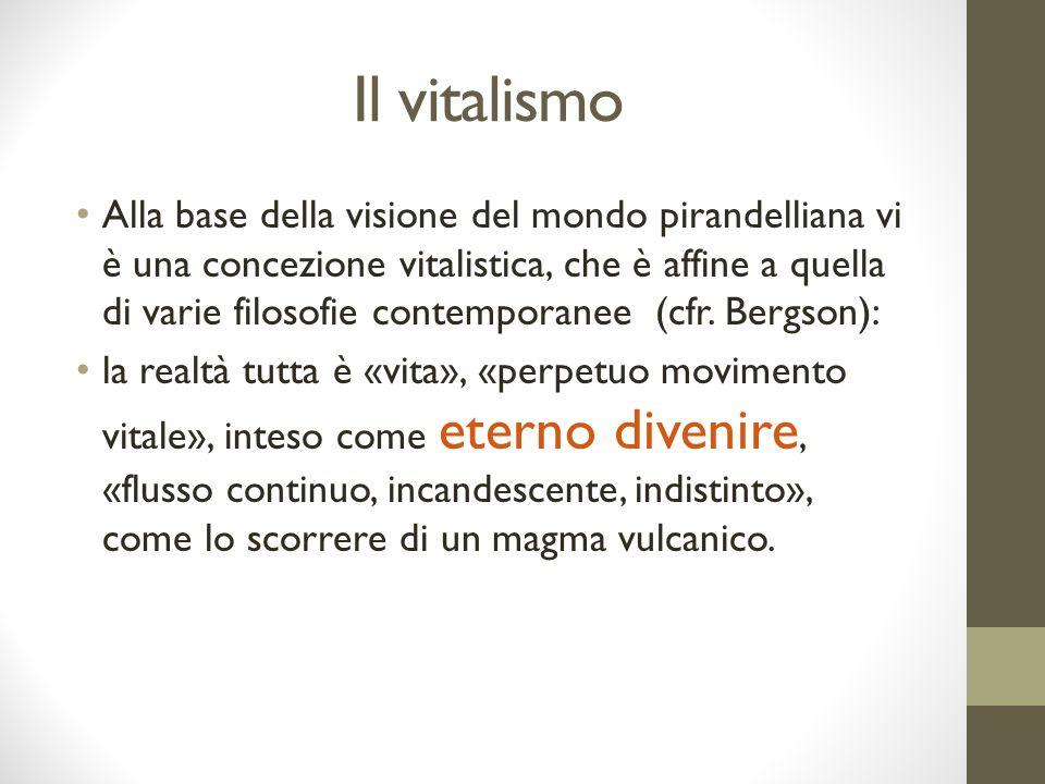 Il vitalismo