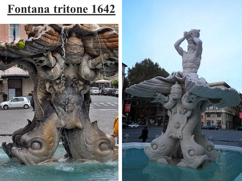 Fontana tritone 1642