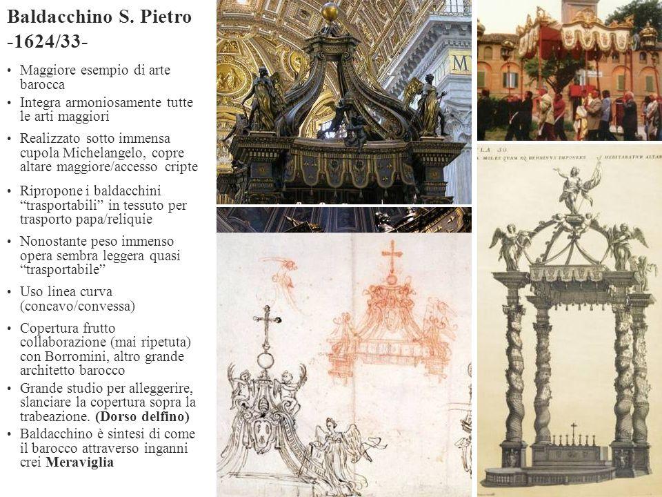 Baldacchino S. Pietro -1624/33-