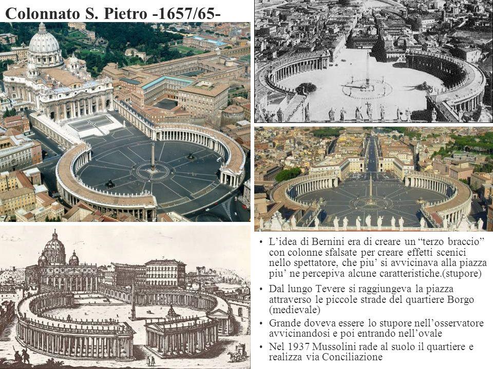 Colonnato S. Pietro -1657/65-